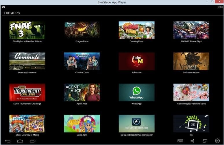 bluestacks android emulator free download for windows 10