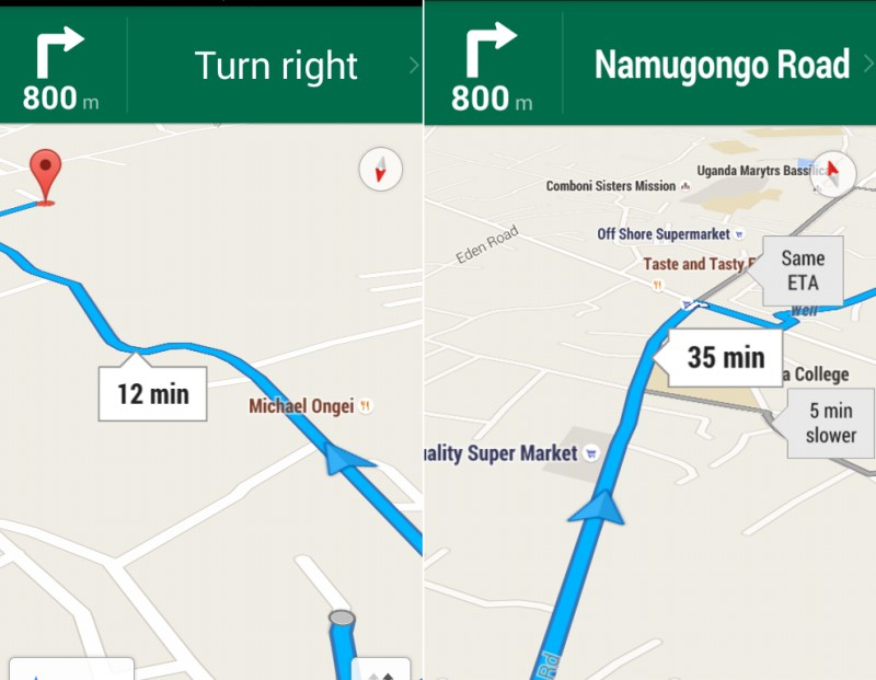 how to add multiple directions in new google maps
