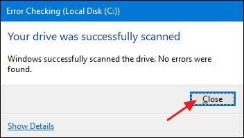 C drive scan