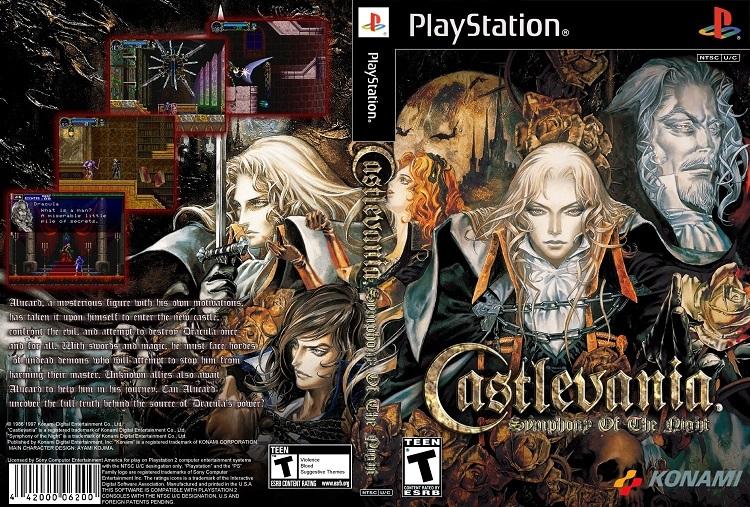 castlevania sotn bet ps1 game