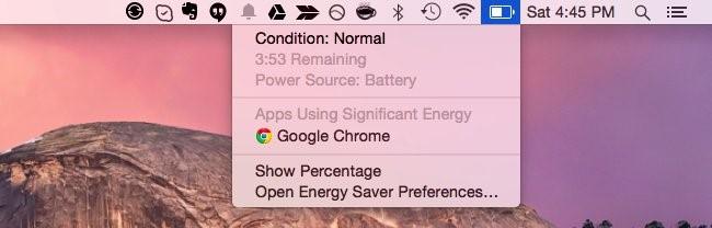 Check Battery Status