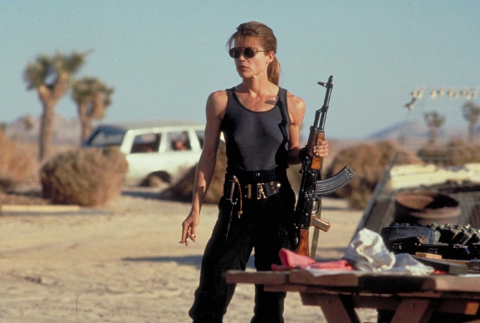 Sarah Connor in Terminator 2