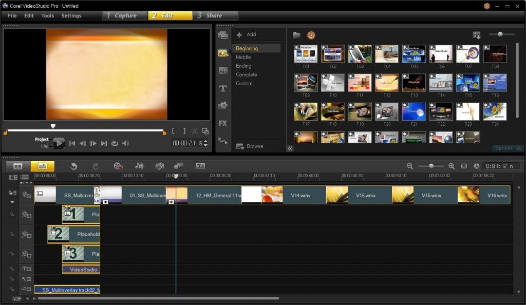 Corel VideoStudio- best windows video editing software