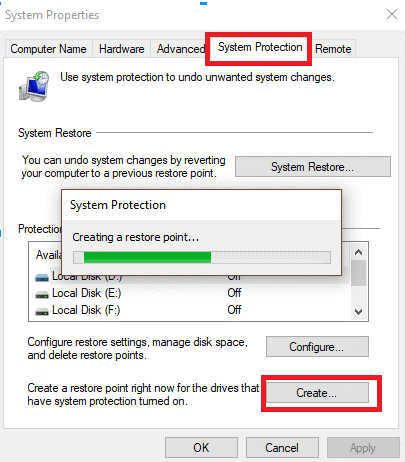 Create-A-Restore-Point-In-Windows-7
