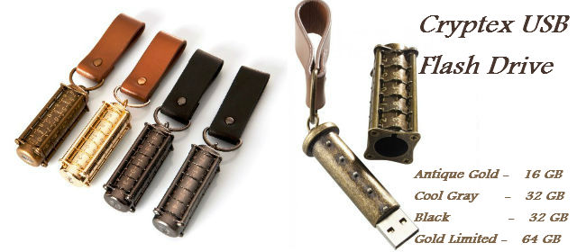 Cryptex USB Flash Drive