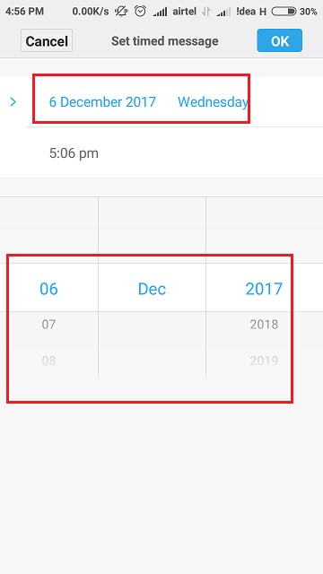 Date option