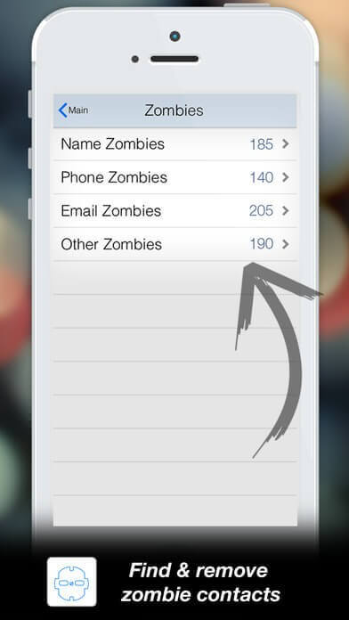 Delete Zombie contacts
