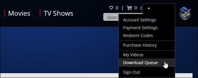 Download queue