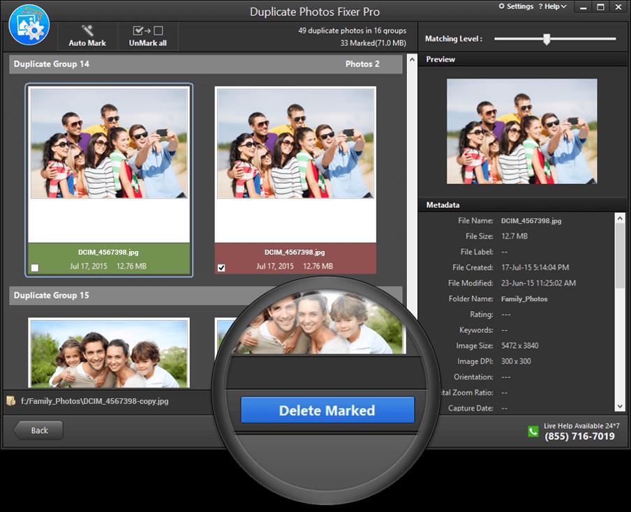 how to delete duplicate photos on photos mac