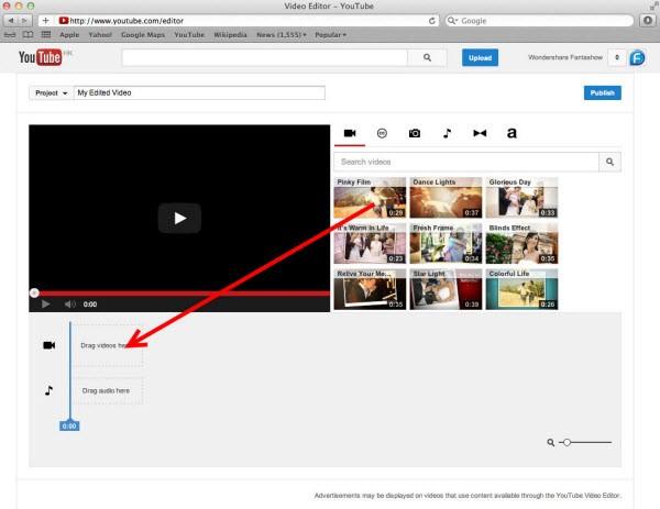 Edit online videos