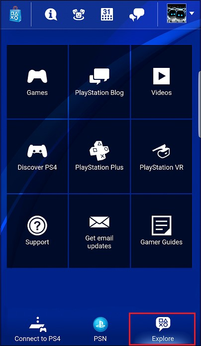 Explore PS4