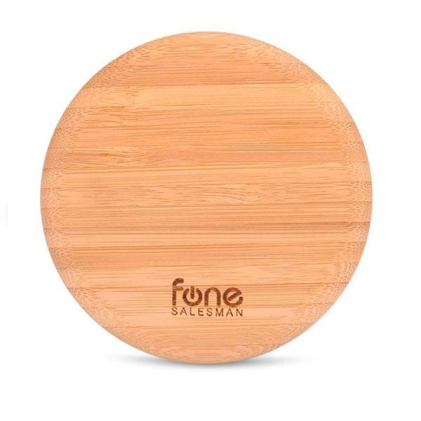 Fonesalesman WoodPuck Bamboo Edition