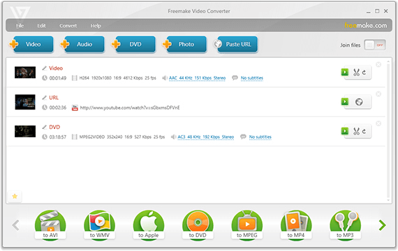 Freemake Video Converter for windows 2017