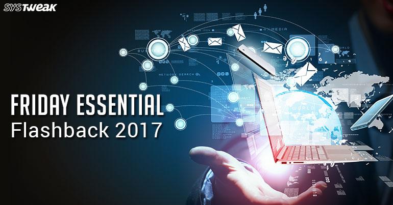 Friday Essential: Flashback 2017