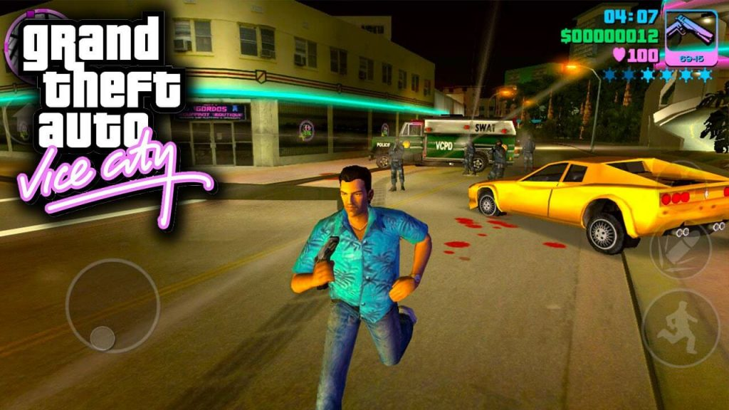 GTA Vice City-San Andreas