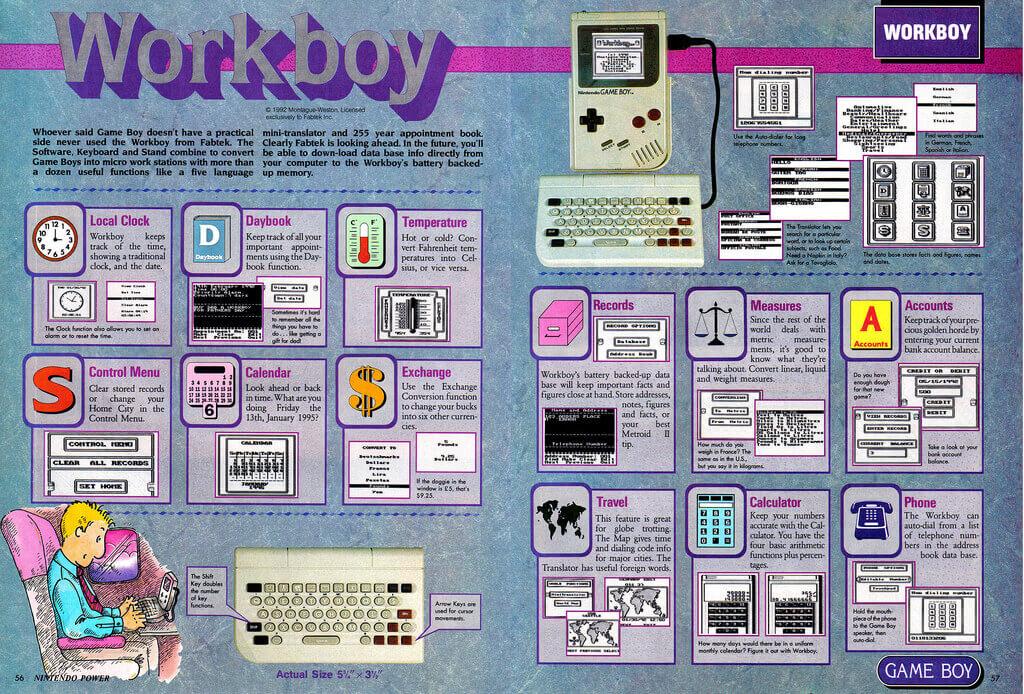 Gameboy Workboy