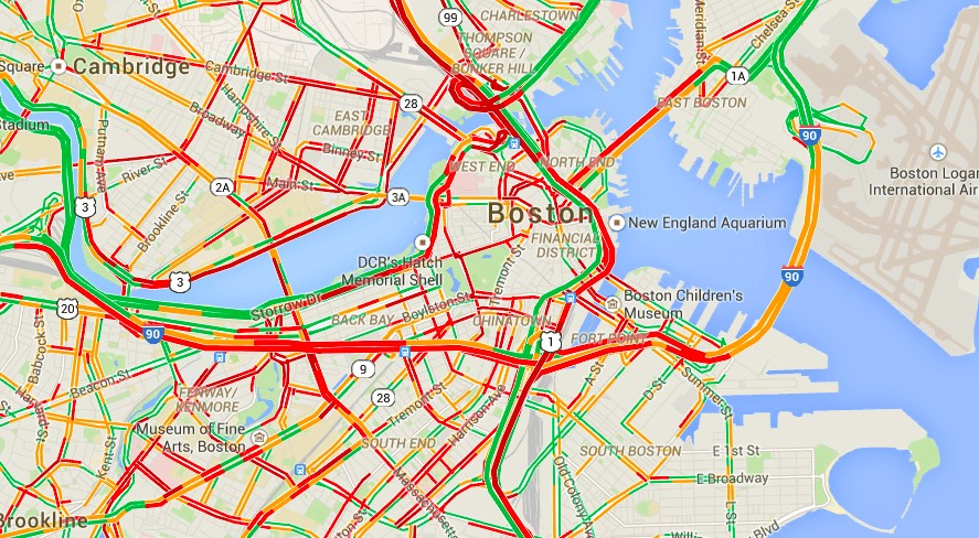 Get Traffic Information In No Time