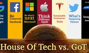 GoT Meets Tech Giants: Who Could Be What!