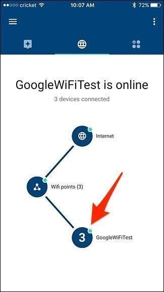 Google wifi test