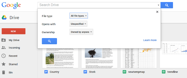 googledrive-Cloud Storage Tools for Big Data