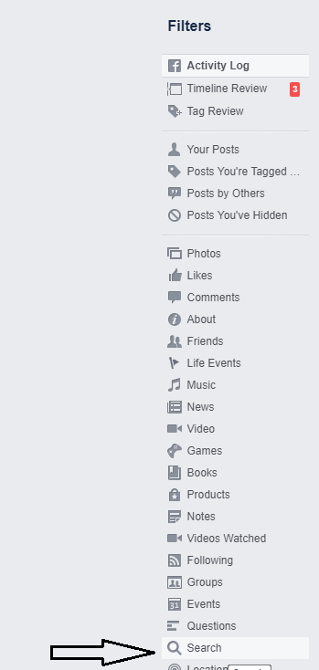 How To Clear Search History on Facebook