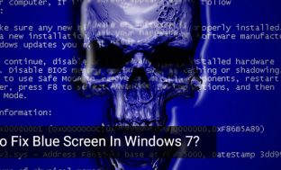 How to Fix Blue Screen of Death Error in Windows 7