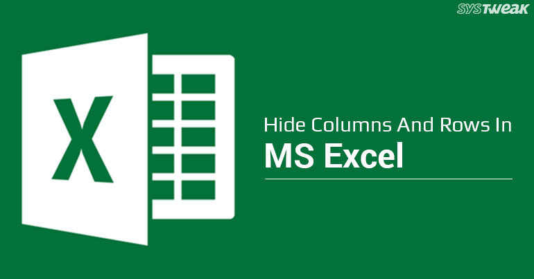 Excel Tip: How To Hide Columns And Rows