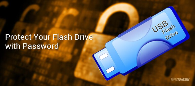 How To Protect Your USB Pen Drive With Password