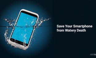How to Repair Wet Smartphone – Fix Water Damaged Phone