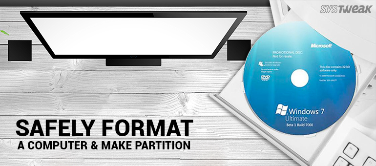 How to Safely Format a Windows Computer & Make Partition