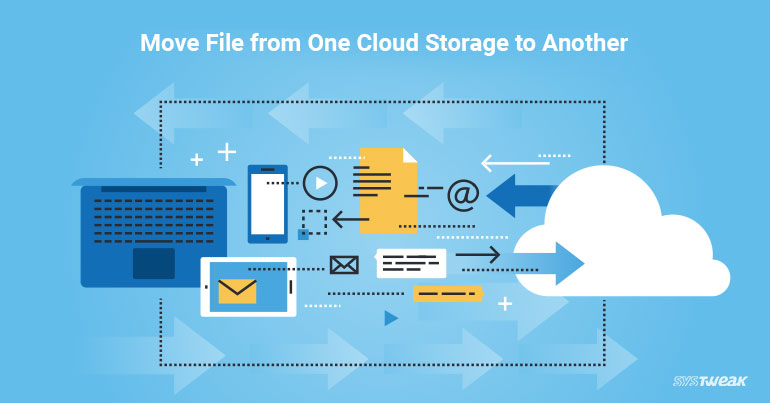 How to Shift Files between Cloud Services