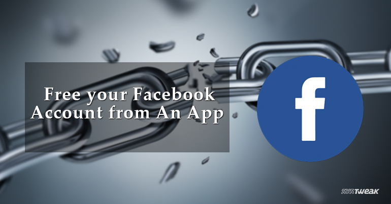 How to Unchain Facebook Account from AnApp