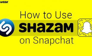 How To Use Shazam On Snapchat