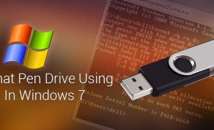 How To Format Pen Drive Using CMD In Windows 7