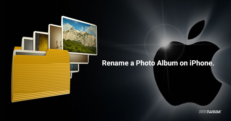 How to Rename a Photo Album on iPhone