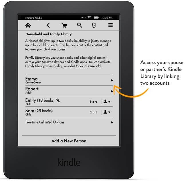 How to share your Kindle book