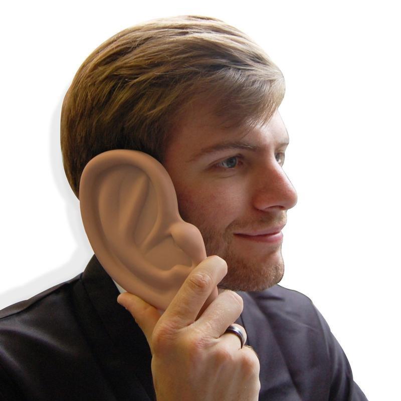 I m all ears