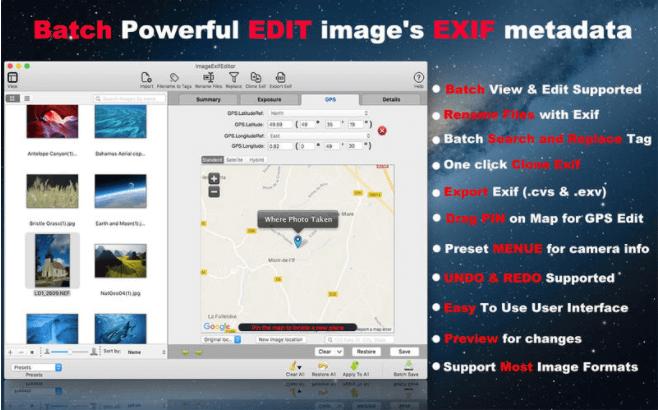 Image Exif Editor