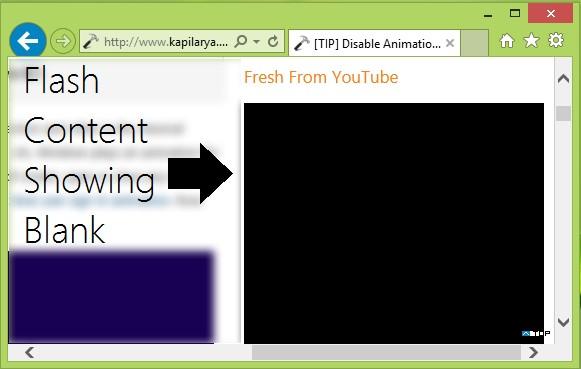 Internet explorer video