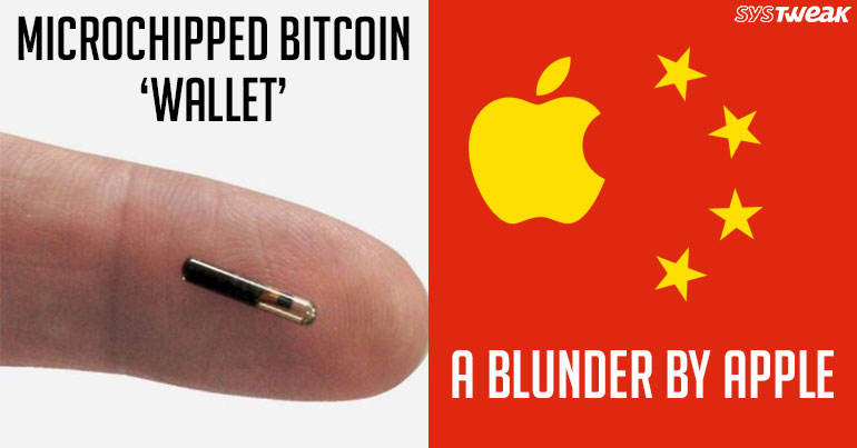 Newsletter: Microchip Wallet for Bitcoin & Apple China Data Migration Hoax