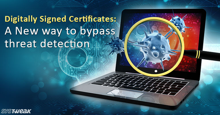 Legitimate Digitally Signed Certificates for Sale on Dark Web
