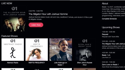 Listen to Beats 1 radio station