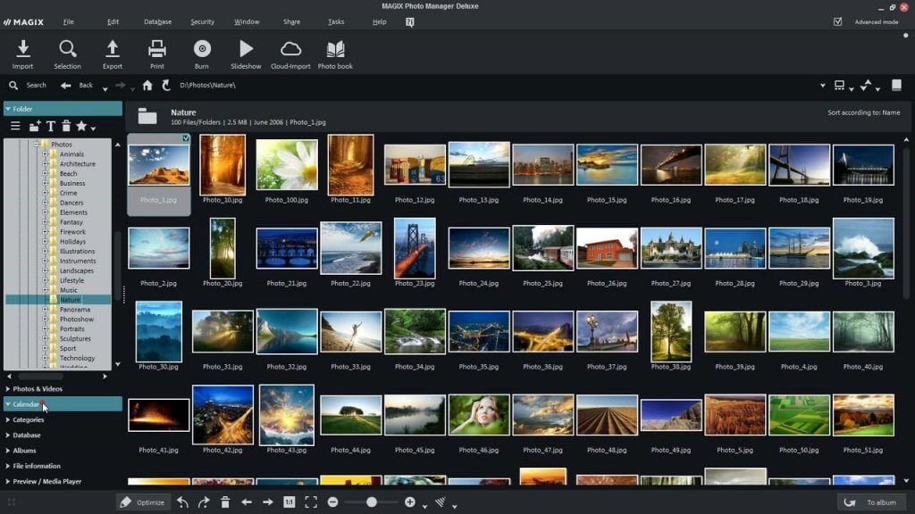 Magix Photo Manager