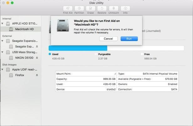 Maintaining Disk Utility