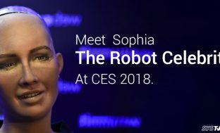 Meet Sophia the Robot Celebrity at CES 2018
