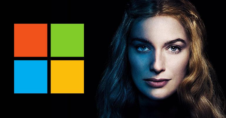 Microsoft – Cersei Lannister