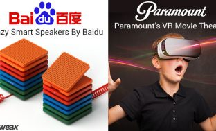 NEWSLETTER: BAIDU'S SMART SPEAKERS & VR MOVIE THEATRE BY PARAMOUNT