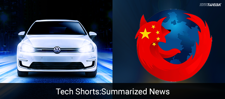 Newsletter: The Great Firewall Of China & Volkswagen's Electric Messiah