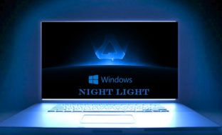 Rest Your Eyes with Night Light on Windows 10