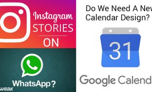 Newsletter: Now Post Instagram Stories To Whatsapp? & Google Enforces New Calendar Design